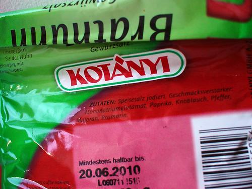 mononatriumglutamat (monosodium glutamate)