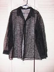 Embroidered Sheer Shirt - LB 22/24 - $10