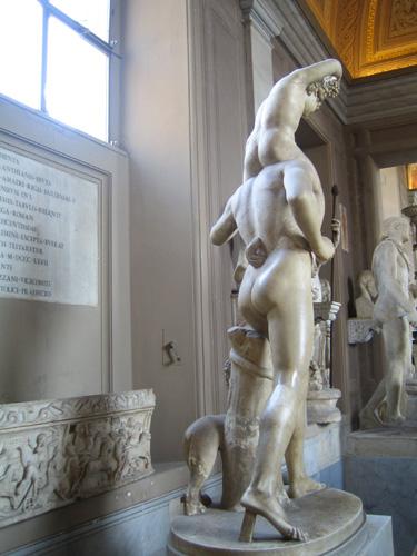 梵蒂崗博物館雕塑品
