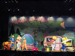 Watching Bob the Builder live