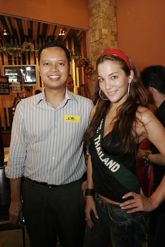 Partying with Ms. Earth Candidates