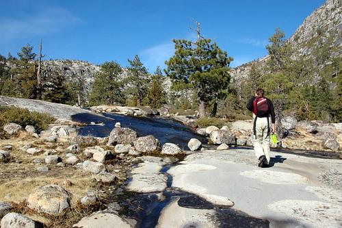 Horsetail Falls Trail - Tahoe, CA.