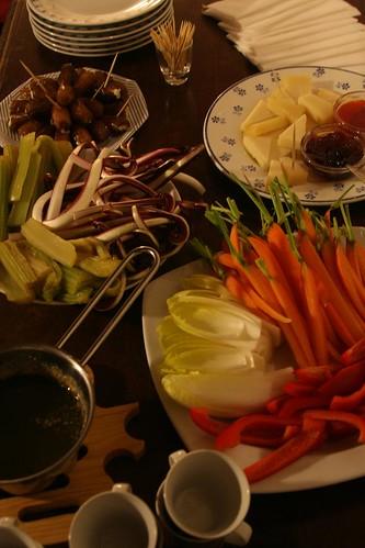 Full Appetizer Table