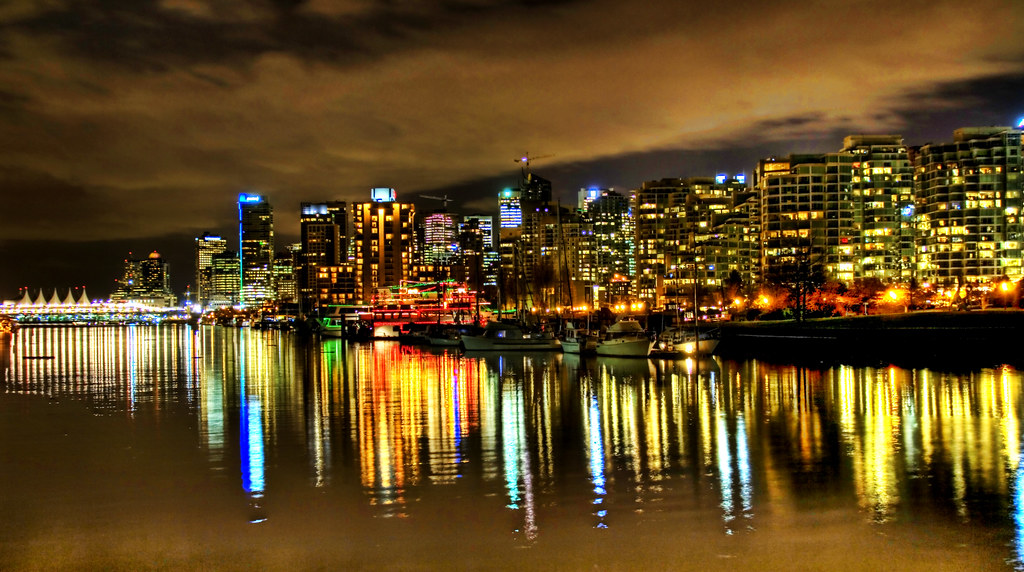 Vancouver at Midnight