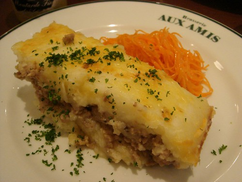 Mashed potates and minced pork - lunch 01-