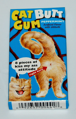 Catt Butt Gum