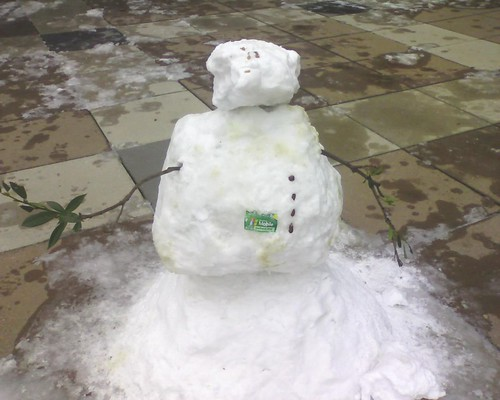 Windows Mobile Snowman