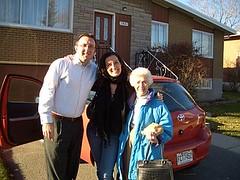 Dave, Jess, Grandma