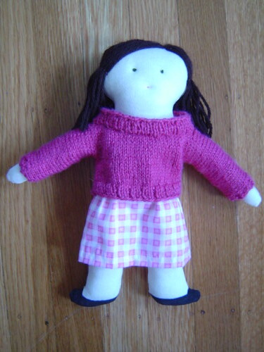 doll in pink outfit