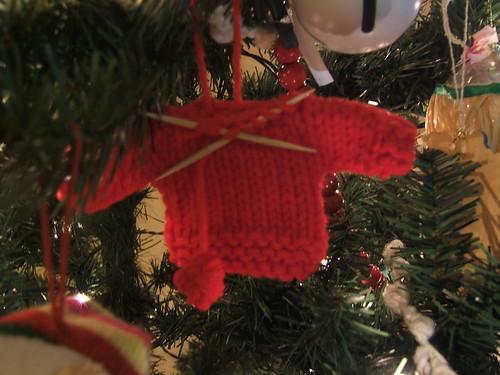 mom's sweater ornament