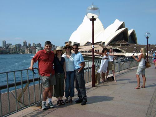 Sean, Jeanine, Meghan, Shami, Opera House
