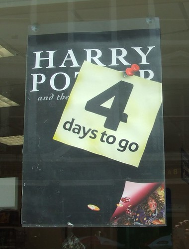 Harry Potter and the Deathly Hallows - 4 days to go!