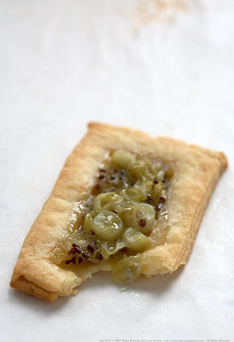 Gooseberry tartlet from Lara Ferroni