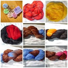 Newly added yarns