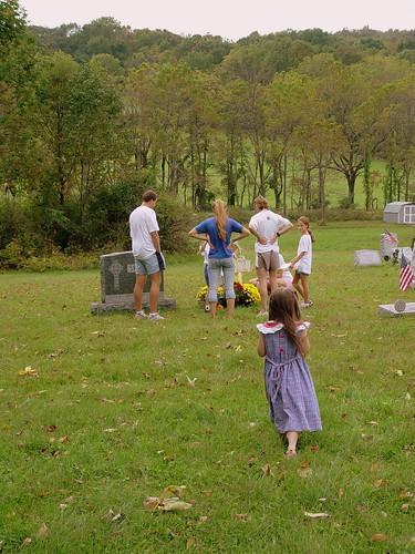 Meeting at the graveyard