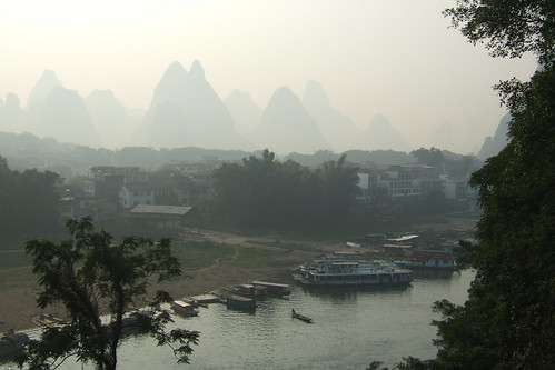 Yangshuo's poor visibility
