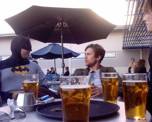 Bat-lounge...
