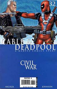Cabel Deadpool 32