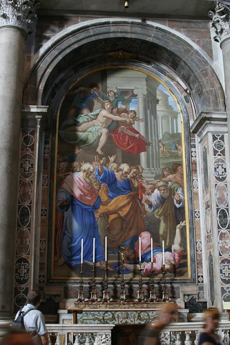 A Mosaic of a Raphael Painting, St. Peter's