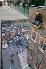 Julian Beever - Batman and Robin