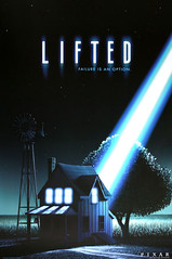Lifted Pixar Poster