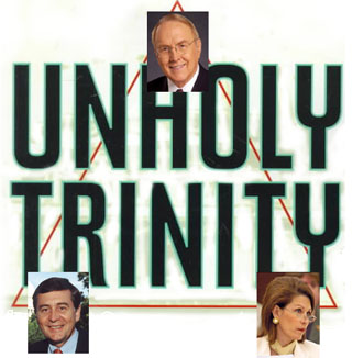 The James Dobson, Gil Gutnecht, Michele Bachmann Unholy Trinity