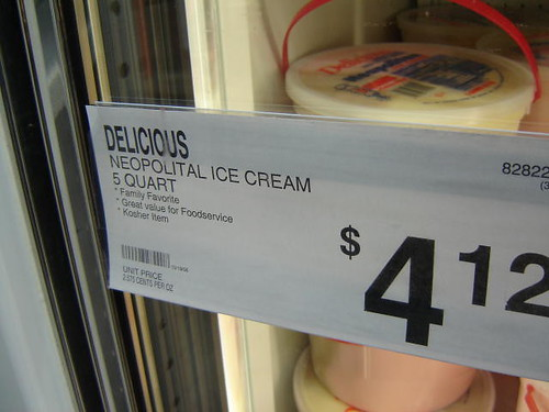 Neopolitical ice cream.