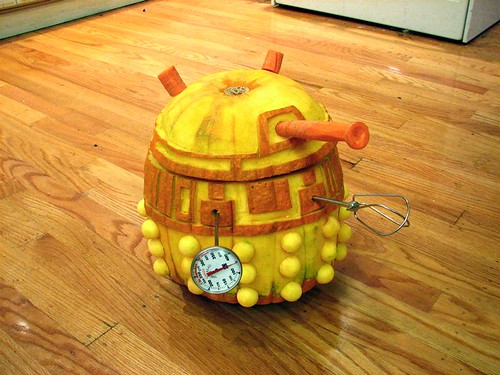 Building A Robotic Dalek Pumpkin Evil Mad Scientist Laboratories