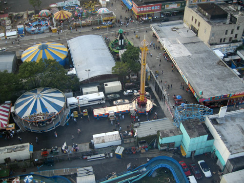Coney From Tower