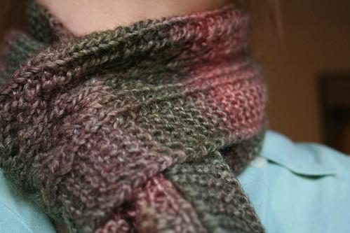 Baby fern scarf