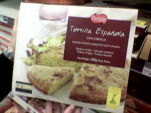 Tortilla española precocinada