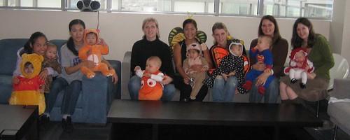 Moms and Hallowe'en Babies