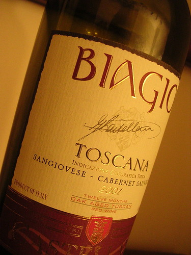 Castellani Toscana Biagio 2001