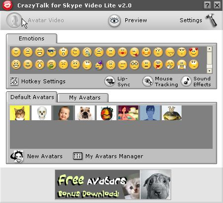 crazytalk_for_skype