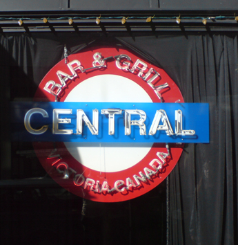 Central Bar Victoria, Vancouver Island