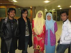 Bersama Classmates Sewaktu Sambutan Hari Raya Anjuran Malaysian Embassy di Astra Hall, Belfield, UCD