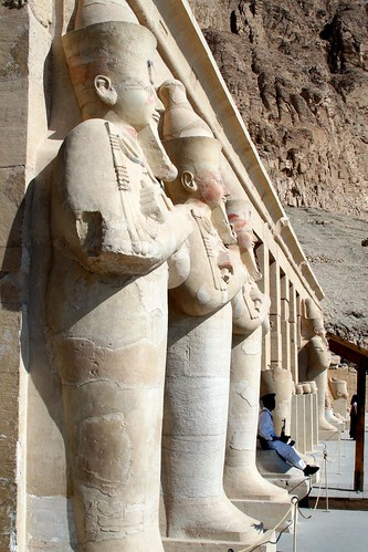Hatshepsut dressed like a man