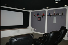 theatre room after
