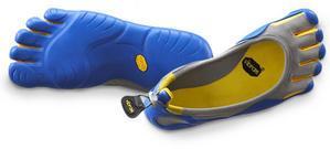 pieds bleu