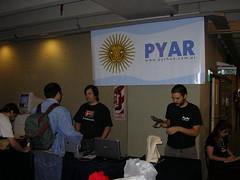 CaFeCONF 2006 - Stand de PyAr