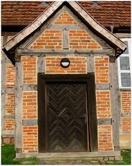 Dorfkirche Glocksin - Eingangstür