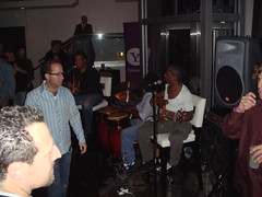 Pubcon The band at the Yahoo Party