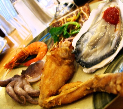 buffet plate 1