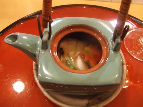 Sugiyama (New York) - Soup w/ Tofu Skin, Tai, & Special Mushroom