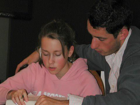 Thanksgiving, working Suduko 2006