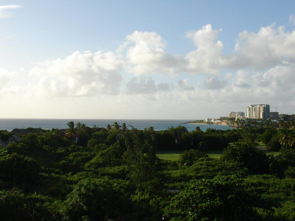 View from my St. Maarten Resort Balcony