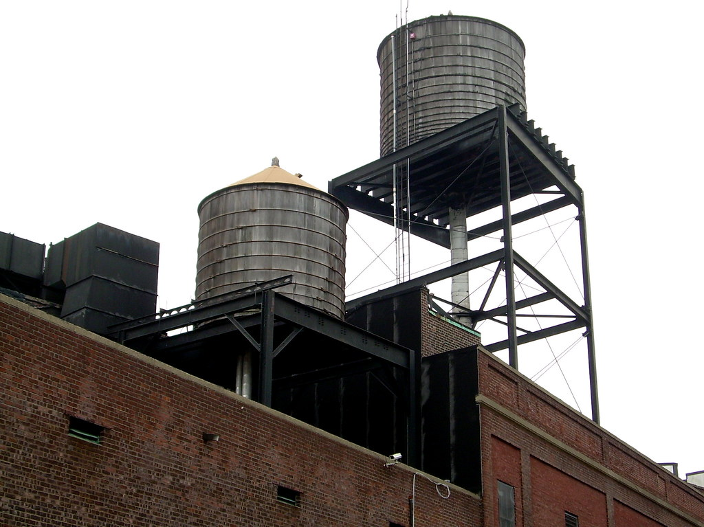 water towers, midwood