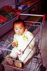 CHINA - Lost in a Mini Market photo by BoazImages
