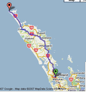 наш путь по Новой Зеландии