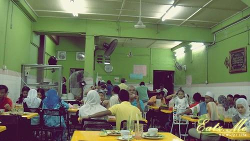 Restoran Fuziah: Nasi Ayam Bazar Bulat 1980